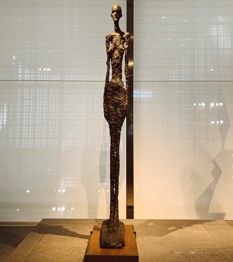 Standing Woman Ⅱ ALBERTO GIACOMETTI France 1959-60 H. 275 cm; bronze Centre Pompidou - Musée national d'art moderne