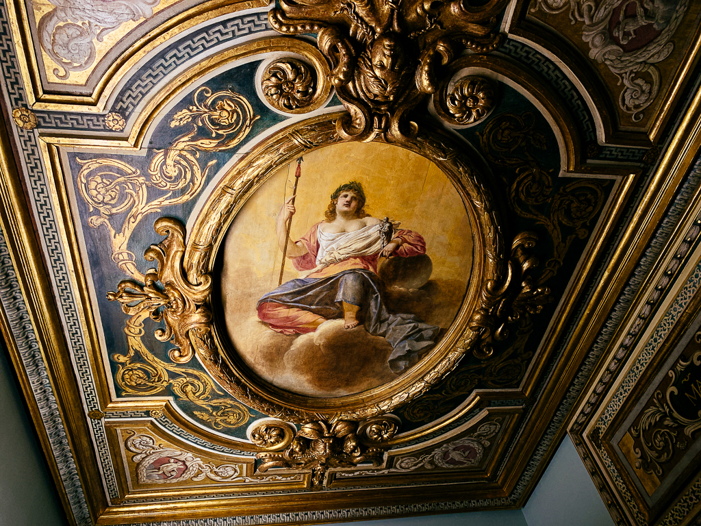 Interior decoration with an Allegory of Nobility